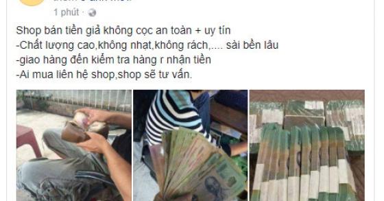 'Quảng cáo vũ khí, tiền giả tràn lan trên Facebook'