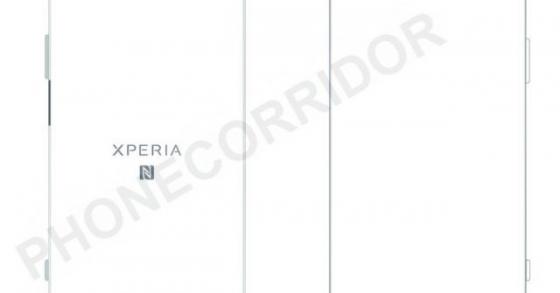 Lộ ảnh bản vẽ của Xperia XZ Pro với camera kép