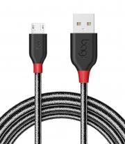 Dây cáp bọc dù sạc nhanh Bagi Micro-USB dài 1.5m MH150