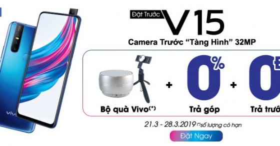 Đặt trước Vivo V15 camera trước tàng hình 32MP đã có mặt tại Truong Plus