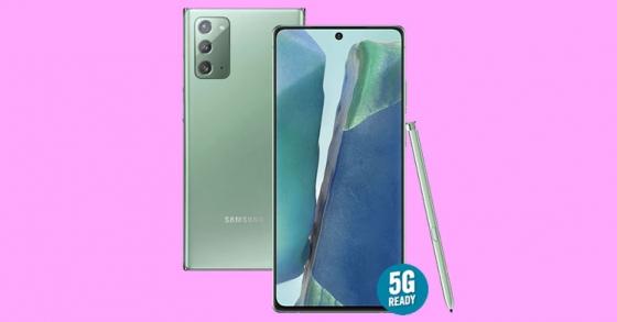 Hình ảnh mới về Galaxy Note20