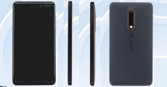 Nokia 6 2018 lộ ảnh