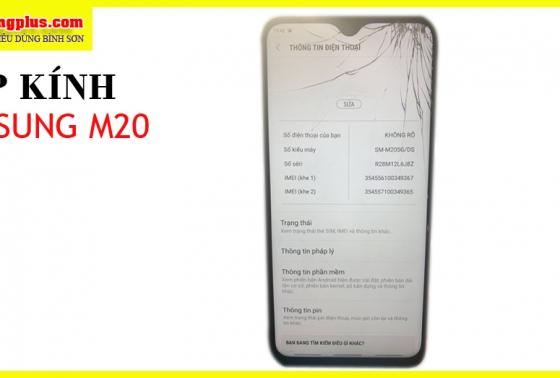 Ép kính điện thoại Samsung M20