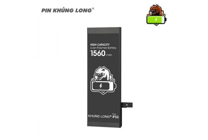 Pin trong cho Iphone 5s dung lượng chuẩn 1560mAh-Pin khủng long 0
