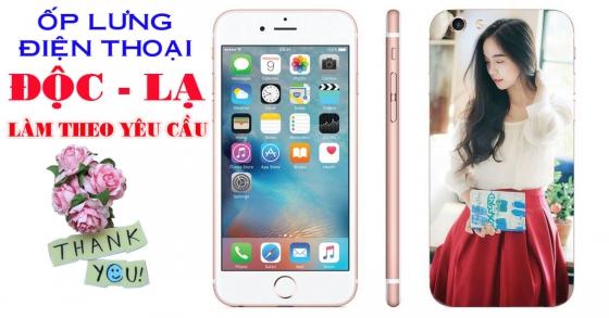 Thiết kế, in ốp lưng điện thoại theo yêu cầu lần đầu xuất hiện Bình Sơn.